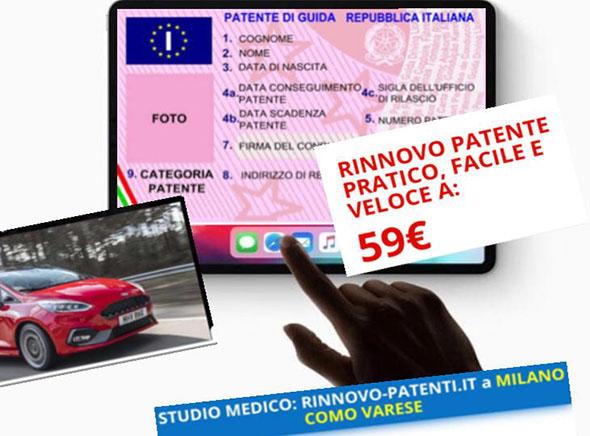 rinnovo patente como